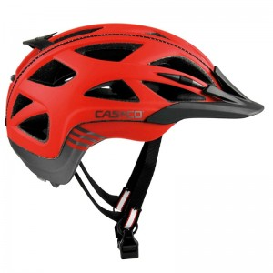 Kask rowerowy CASCO Activ 2 red antrazyt M