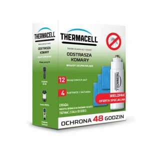 THERMACELL WKŁADY 48h