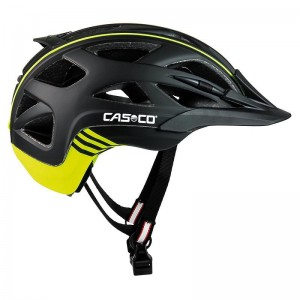 Kask rowerowy CASCO Activ 2 black neon M
