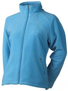 Bluza fleece damska AGU Emilia Fleece Jacket azure S