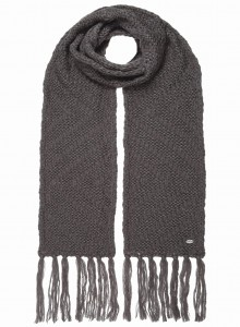 BECKA SCARF DARK GRAY